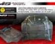 Vis Racing Carbon Fiber Js 2 Hood Honda Civic 96-98