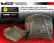 Vis Racing Carbon Fiber Js Hood Honda Prelude 92-96