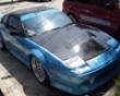 Vis Racing Carobn Fiber Js Hood Nissan Hb 240sx 89-94