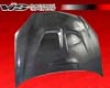 Vis Racing Carbon Fiber Js Style Hood Acura Rsx 02-07