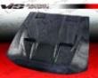 Vis Racing Carbon Fiber Mach 5 Hood Ford Mustang 99-04