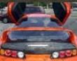 Vis Racing Carbon Fiber Oem Hatch Toyota Supra 93-98