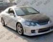 Vis Racing Carbon Fiber Oem Hood Acura Rsx 02-07