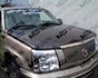 Vis Racing Carbon Fiber Oem Hood Cadillac Escalade 02-04