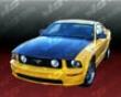 Vis Racinh Carbon Fiber Oem Hood Ford Mustang 050-8
