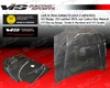 Vis Rafing Carbon Fiber Oem Hood Honda Civic 4dr 92-95