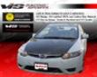 Vis Racing Carbon Fiber Oem Hood Honda Civil 06-09