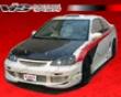Vis Racing Carbon Fiber Oem Hood Honda Civic 01-03