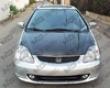 Vis Racing Carbon Fiber Oem Hood Honda Civic Si 02-05