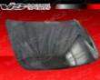 Vis Racing Carbon Fiber Oem Hood Infiniti G37 08+