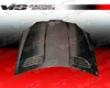 Vis Racing Carbon Fiber Oem Cover  Mercedes-benz Slk 05-07