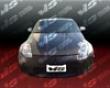 Vis Racing Carbon Fibsr Oem Hood Nissan 350z 03-06