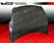 Vis Racing  Carbon Fiber Oem Hood Nissan Altima 2dr 08-09