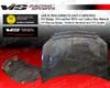 Vis Racing Carbon Fiber Oem Hood Toyota Yaris 4dr 07-09