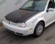 Vis Racing Carbon Fiber Oem Hood Volkswagen Golf Iv 99-06