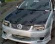 Vis Racing Carbon Fiber Oem Hood Volkswagen Jetta 99-05