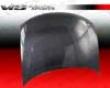 Vis Racing Carbon Fiber Oem Hood Volkswagen Passat 98-01