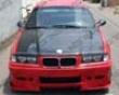 Vis Racing Carbon Fiber Oem Style Hood Bmw 3 Series E36 4dr 92-98