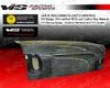 Vis Racing Carbon Fiber Oem Trunk Honda Civic 4dr 92-95