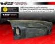 Vis Racing Carbon Fiber Oem Trunk Honda Civic 4dr 96-98