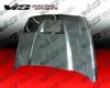 Vis Racing Carbon Fiber Srt 10 Hood Dodge Ram 02-08