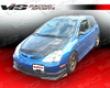 Vis Racing Carbon Fiber Techno R Hood Honda Civic Si 02-05