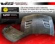 Vis Racing Carbon Fiber Techno R Jdm Hood Honda Civic 4dr 06-09