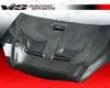 Vis Racing Carbon Fiber Techno R Style Hood Acura Rsx 02-07