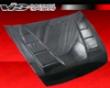 Vis Racing Carbon Fiber Terminator Hood Honda Accord 4dr 03-07