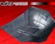 Vis Racing Carbon Fiber Terminator Hood Hyundai Genesis 09+