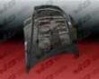 Vis Racing Carbon Fiber Terminator Hood Hyundai Tiburon 03-06