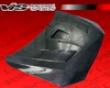 Vis Racing Carbon Fiber Terminaor Hood Mitsubishi Lancer 08+