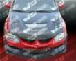 Vis Racing Carbon Fiber Tracer Hood Mitsubishi Evo Ix 06-07