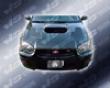 Vis Racing Carbon Fiber Tracer Hood Subaru Wrx 04-05