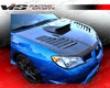 Vis Racing Carbon Fiber Tracer Hood Subaru Wrx 06-07