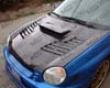Vis Racing Carbon Fiber Tracer Hood Subaru Wrx 02-03