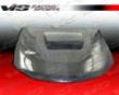 Vis Racing Carbon Fiber Tracer Hood Subaru Wrx 08-09