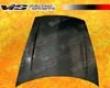 Vis Racing Carbon Fiber Turbo Hood Porsche Cayenne 02-08