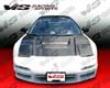 Vis Racing Carbon Fiber Type R Style Hood Acura Nsx 91-01