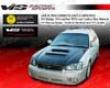 Vis Raicng Carbon Fiber V Line Hood Subaru Impteza 00-04