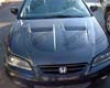 Vis Racing Carbon Fiber Xtreme Gt Hood Honda Accord 4dr 98-02