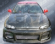 Vis Racing Carbon Fiber Xtreme Gt Hood Honda Civic 92-95