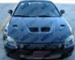 Vis Racing Carbon Fiber Xtreme Gt Hood Hohda Civil Hb 88-91