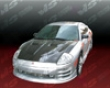 Vis Racing Carbon Fiber Xtreme Gt Hood Mitsubishi Eclipse 3g 00-05