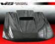 Vis Racing Carbon Fiber Zd Hood Stream Mustang 94-98