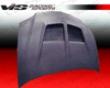 Vis Racing Dry Liquefaction  Cf Vrs Hood Mitsubishi Evo Ix 06-07