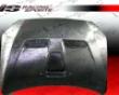 Vis Racing Titanium Silver Oem Hood Mitsubishi Evo X0 8+