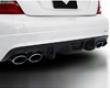 Vorsteiner Carbon Fiber Rear Diffuser Mercedes-benz C63 Amg 07+