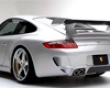 Vorsteiner V-gt Dvwp Vented Rear Bumper Porsche 997 05+