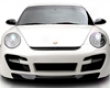 Vorsteiner V-rt Carbon Fibrr Front Bumper Porsche 997 Tt 07+